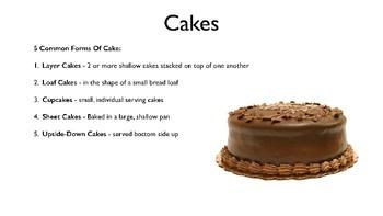 Cakes PowerPoint