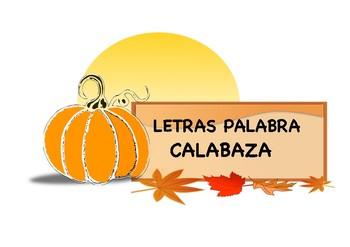 Calabaza - Letras