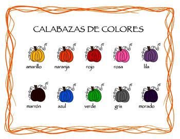 Calabazas de colores