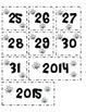Calandar Set (numbers & months)