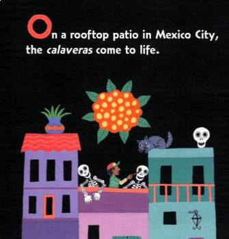 Art Book, Calavera Abecedario: Day of the Dead Alphabet Book,Art Teacher, Paper