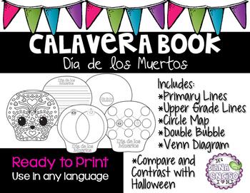 Calavera Book Day of the Dead
