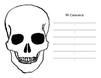 Calavera Diamante Poem for Día de los Muertos