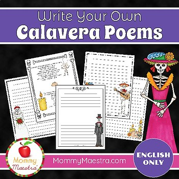 Calavera Poetry Writing Activity