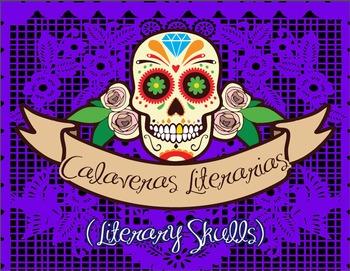 Calaveras Literarias Poster - Literary Skulls Poster