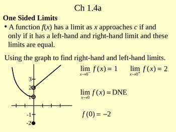 Calc Ch 1.4a