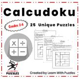 Calcudoku Puzzles - 25 Unique Calcudoku Puzzles Bundle