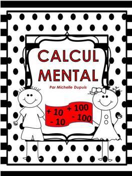 Calcul mental en mathématiques  cartes écaires   (français-french)