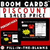 Calculate Discount and Sales Price Digital Boom™ Activity For Distance Learning