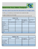 Calculate & Illustrate Your Water Use with a Water footprint