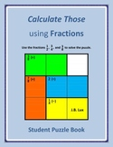 Calculate Those using Fractions (Student Puzzle Book)