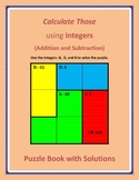 Calculate Those using Integers (Addition and Subtraction)
