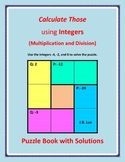 Calculate Those using Integers (Multiplication & Division)