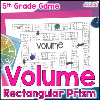 Calculate Volume Math Board Game