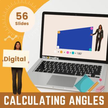 Calculating Angles - KS3, 6th - 8th Grade