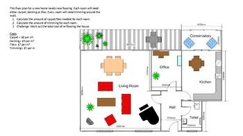 Floorplan - Calculating Area, Perimeter and Cost