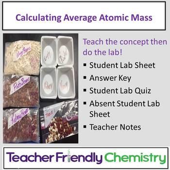 Chemistry Lab: Calculating Average Atomic Mass