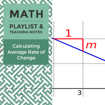 Calculating Average Rate of Change