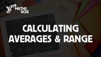 Calculating Averages & Range - Complete Lesson