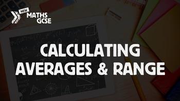 Calculating Averages & Range - Complete Lesson