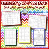 Calculating Calendar Math {interactive calendar & weather book}