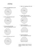 Calculating Circumferences of Circles/Semi-Circles
