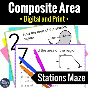 Composite Area Stations Maze Activity