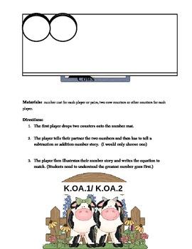 Calculating Cows- K.OA.1-K.OA.2