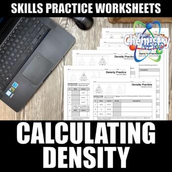 Density Practice Worksheets | Print | Digital | Self-Grading | Distance Learning