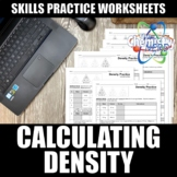 Density Practice Worksheets | Print | Digital | Self-Gradi