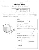 Calculating Density MOD