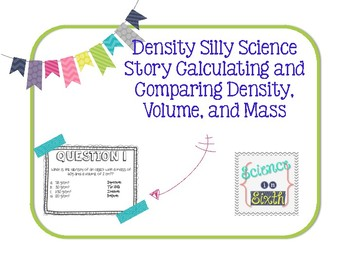 Calculating Density Silly Science Story