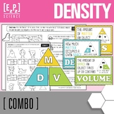 Calculating Density and Density Triangle Poster Combo