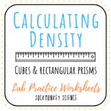 Calculating Density of Cubes and Rectangular Prisms Practi