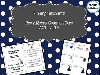 Calculating Discounts Activity