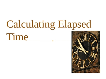 Calculating Elapsed Time
