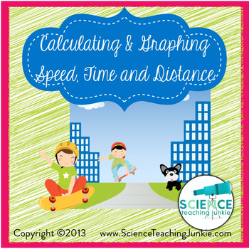 Calculating & Graphing Speed, Distance and Time (Google Classroom compatible)