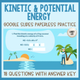 Calculating Kinetic & Potential Energy - Paperless Practic