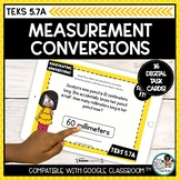 Calculating Measurement Conversions | Boom Cards Math Dist