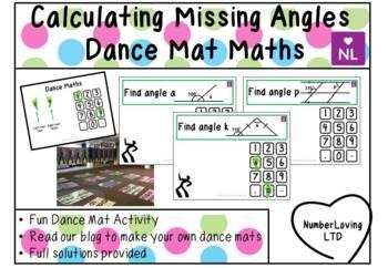 Calculating Missing Angles (Dance Mat Maths)