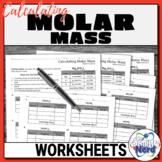 Calculating Molar Mass Worksheets   Printable and Digital