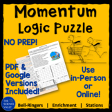 Calculating Momentum Logic Puzzle