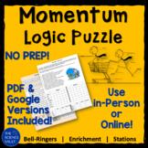 Calculating Momentum Logic Puzzle