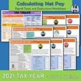 Calculating Net Income for a Paycheck | Payroll Taxes & De