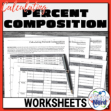Calculating Percent Composition Worksheets   Printable and