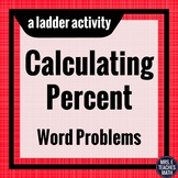 Percent Word Problems Ladder Activity