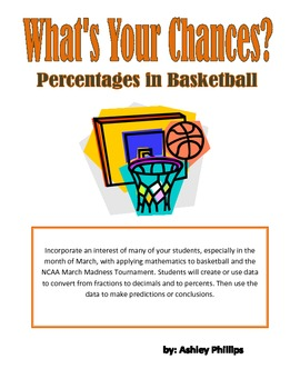 Calculating Percentages in Basketball Bundle
