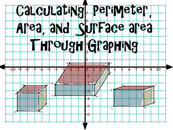 Calculating Perimeter, Area, and Surface Area through Graphing Activity
