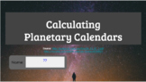 Calculating Planetary Calendars