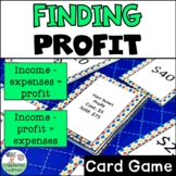 Calculating Profit/Expenses Go Fish Review Game TEKS 4.10B